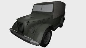 gaz69 polys ready 3ds