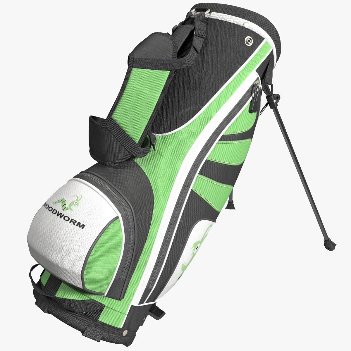 golf bag woodworm 3d max