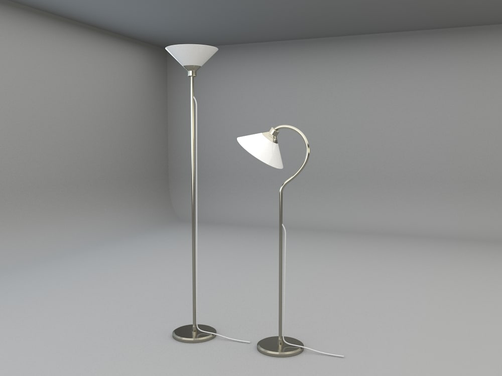 Kroby floor uplight 3d model ikea kroby floor uplight and reading lamp mozeypictures Image collections