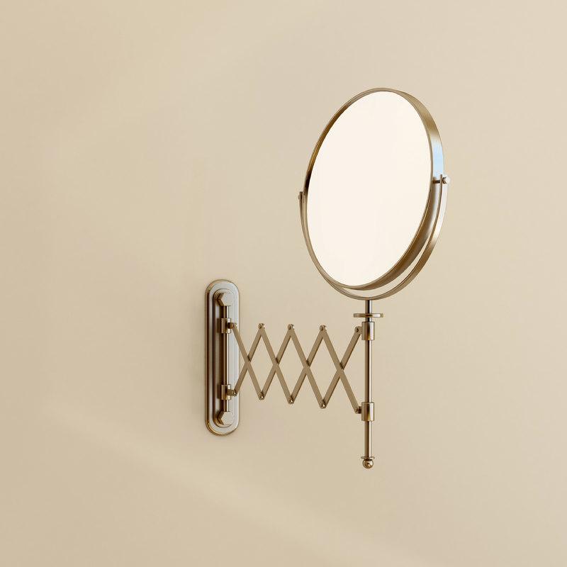 accordion mirror 3d max