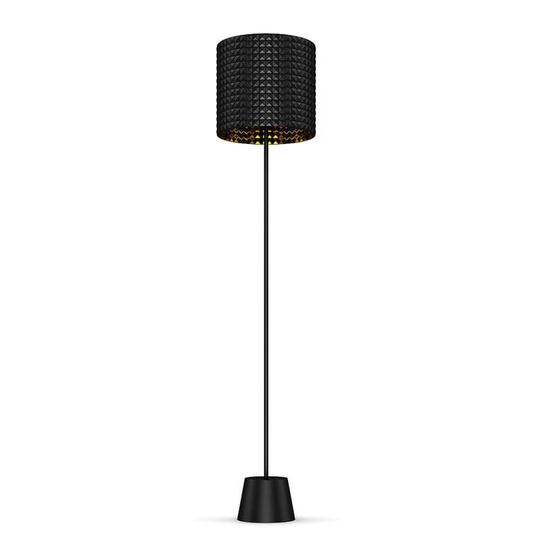 3d c4d lamp standing