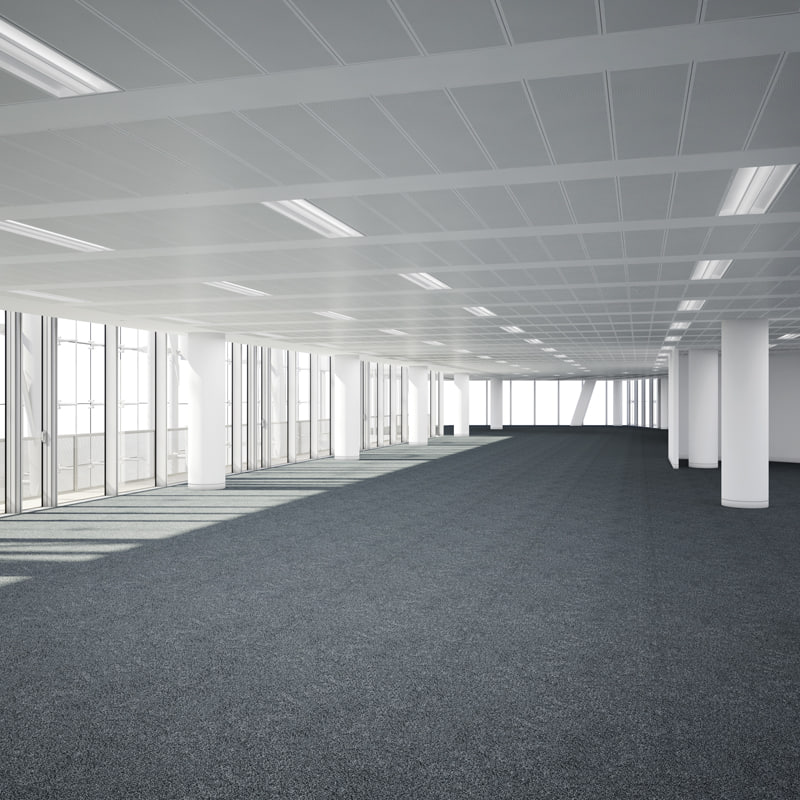 commercial office interior obj