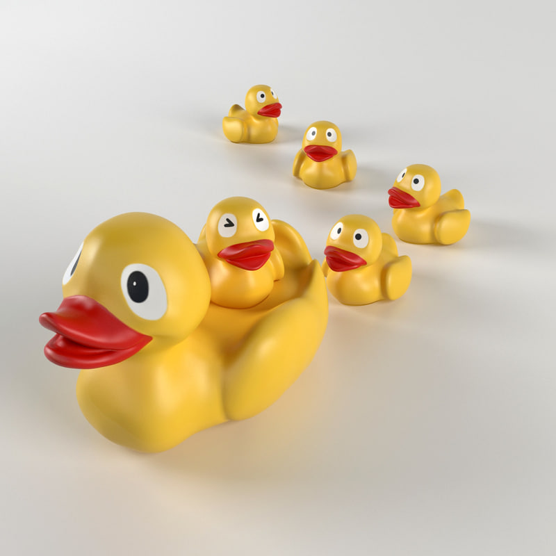 free max mode duck toy