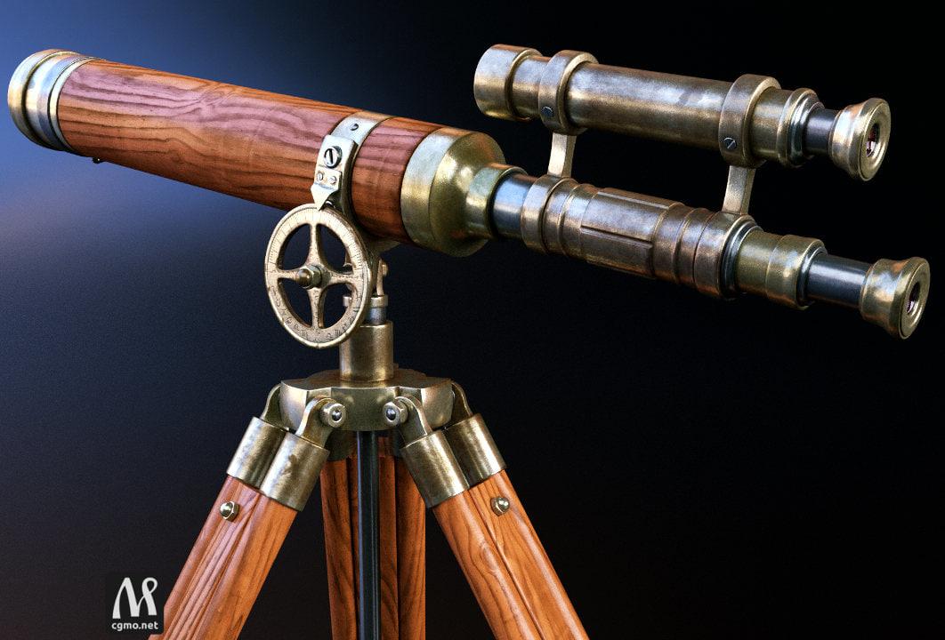 old telescope scope 3ds