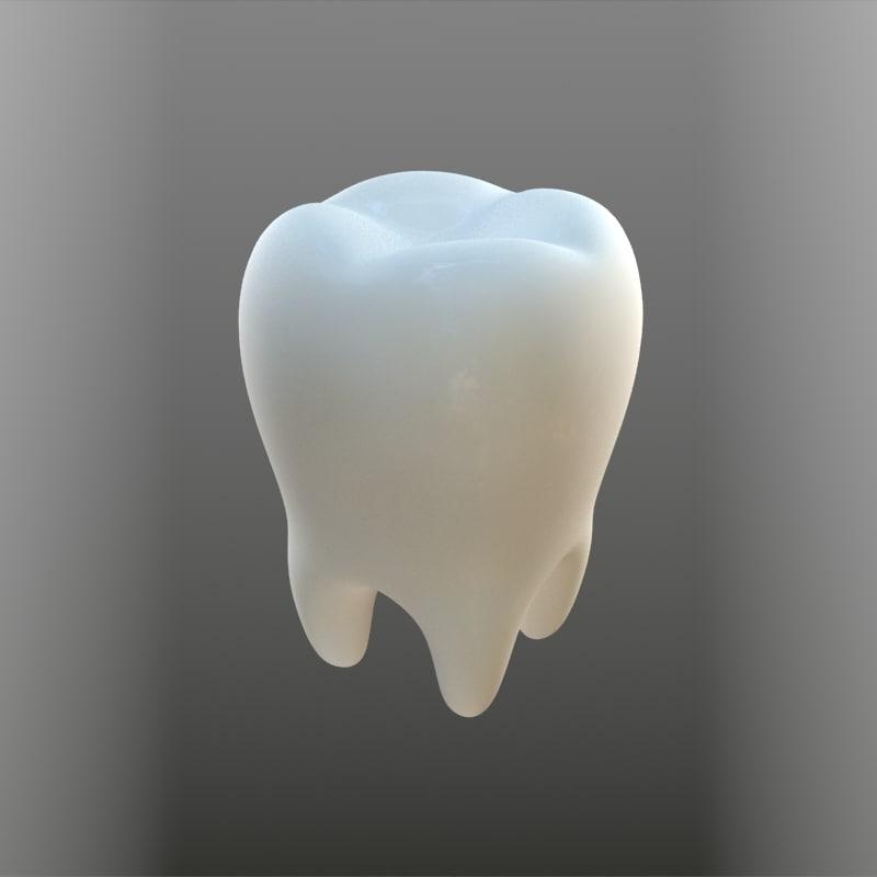teeth 3d max