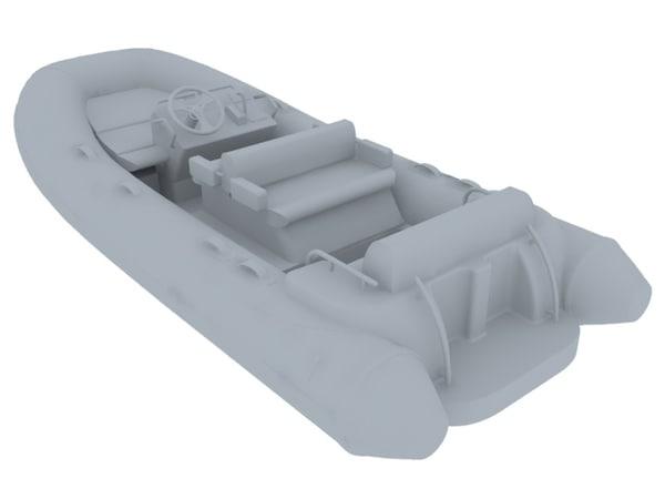 d445 williams tender 3d model