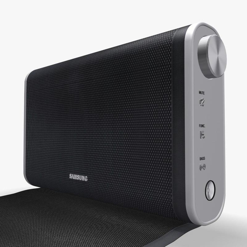 samsung da-f60 nfc bluetooth 3d model