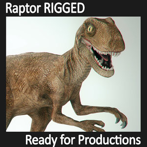 max raptor rigged character