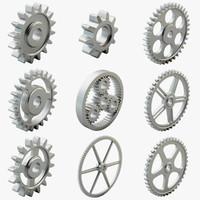 9 Gears Set