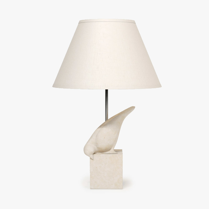 max christopher guy gauche table lamp