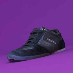 3d model fashion shoes