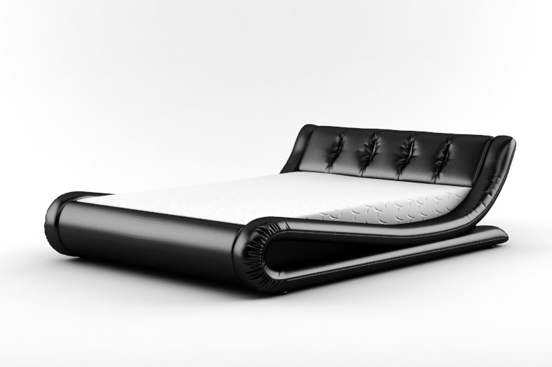3ds leather bed