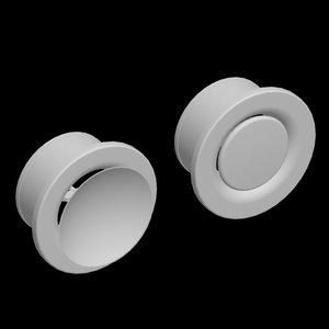 lvs disc valves 3d model