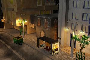 old city 3d max