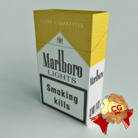 Marlboro Lights Cigarettes