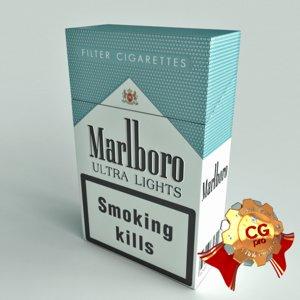 3d max pack marlboro cigarettes
