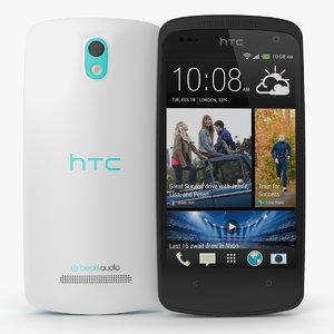 3d htc desire 500