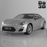 3d scion frs 2013