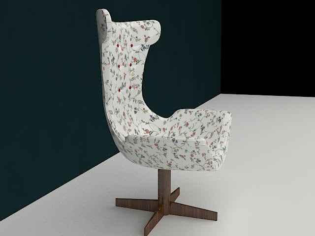 arm-chair 3d max