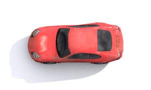 free max model race car
