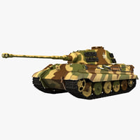 German WWII Heavy Tank Tiger II