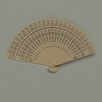 obj chinese hand fan
