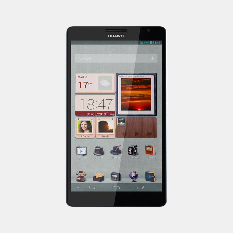 3d model huawei ascend mate