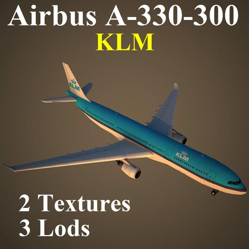 3d airbus klm