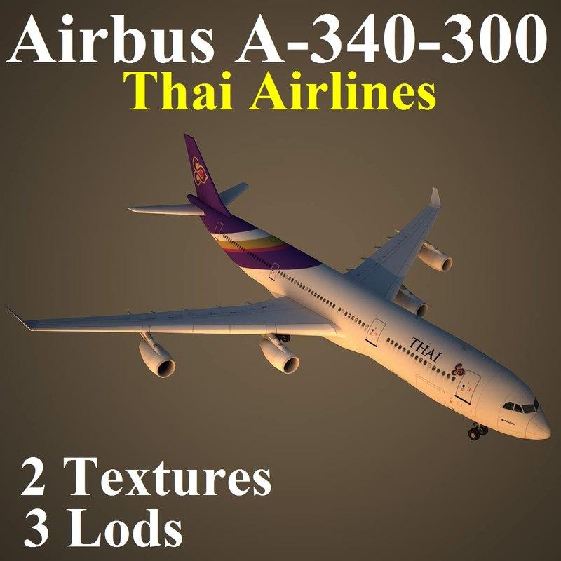 airbus tha 3d max