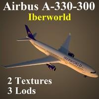3d model airbus iwd