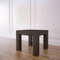3d model outdoor coffee table