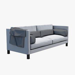3d linteloo lobby sofa model