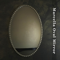 Marcella Oval Mirror
