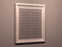 mirror reflector 3d model