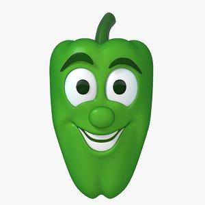 mr pepper 3d model