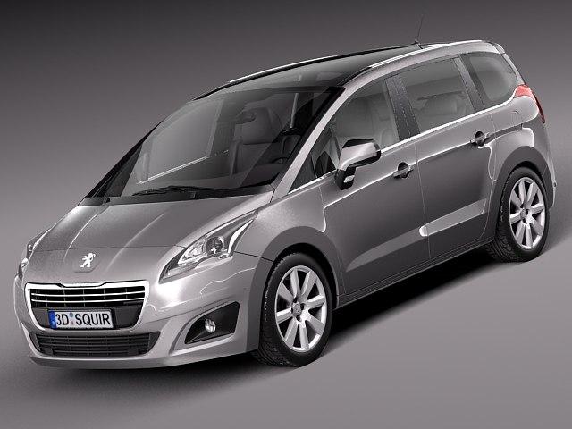 3d model 2013 2014 peugeot van