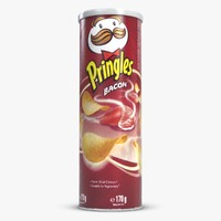 Pringles Chips 1 Bacon