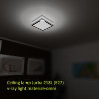 3d model of ceiling lamp jurba 218l