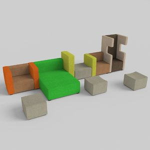 ahrend seating 3ds