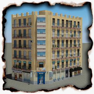 3d model building 95