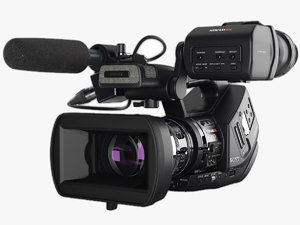 camera sony xdcam-ex 3d model