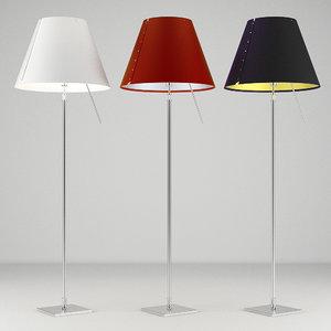 3d constanza lamp light