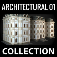 3d model architectural settings