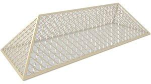 3d pyramid hall smooth model