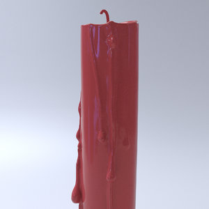 3d candle model