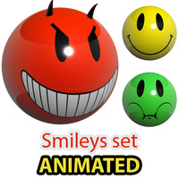Reflective Smileys Set preloaders