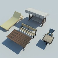 sit table 3d model