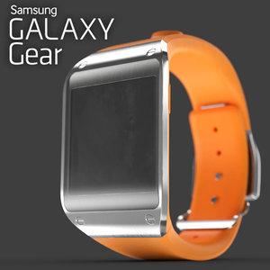 samsung galaxy gear 3d model