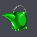 Toy Watering Can 3D models