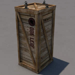 crate 3d model